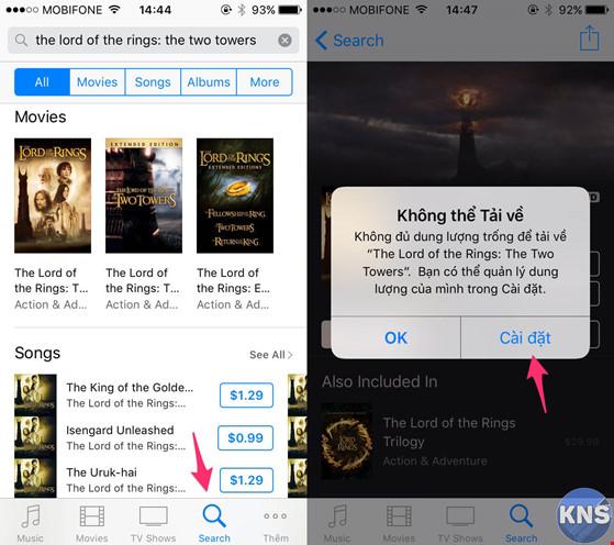 'Mẹo tăng bộ nhớ cho iPhone mà không cần xóa ứng dụng