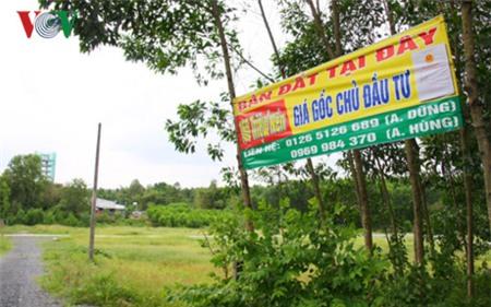 Giá đất nền quanh Sân bay Long Thành tăng từng ngày