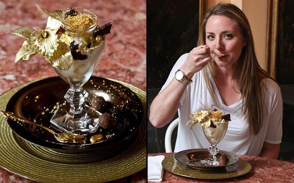 22 triệu đồng 1 ly kem, ăn xong méo mặt nhìn hóa đơn