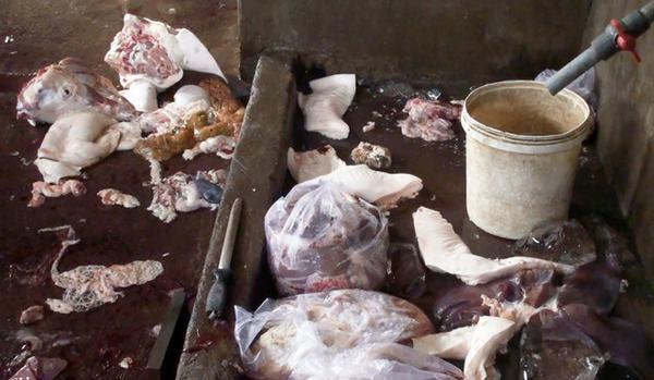 Đồng Nai: Bắt quả tang cơ sở giết mổ heo bệnh đem bán ra thị trường