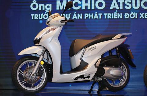 Giá bán thực tế của Honda SH 300i 2017 tại Việt Nam