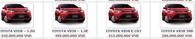 Ô tô giảm giá 230 triệu, loạt xe 'hot' xuống 400 triệu đồng