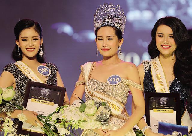 Top 3 cuộc thi Hoa hậu Đại dương 2017. Ảnh: TL