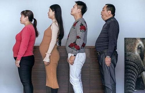 Trung Quốc: Phát sốt vì đại gia đình bụng mỡ bỗng hóa toàn 6 múi